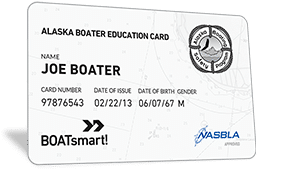 Alaska Boater Education Card