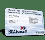 Boatsmart canada boating license