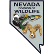 State of Nevada division of Wildlife badge