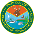 State of South Caroline Department of Natural Resources Badge