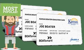 Lost Kansas Boater Education Card 3 Pack Bundle
