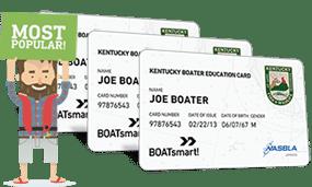 Lost Kentucky Boater Education Certificate 3 Pack Bundle
