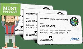 Lost Mississippi Boater Education Certificate 3 Pack Bundle