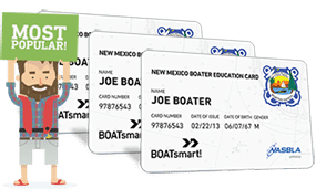 Lost New Mexico Boater Education Card 3 Pack Bundle