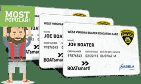 Lost West Virginia Boater Education Certificate 3 Pack Bundle