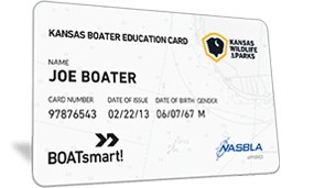 Kansas Boater Education Card